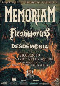 memoriam-fleshworks-desdemonia-28-09-2019-gig